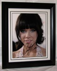 A549CRJ CARLY RAE JEPSEN SIGNED